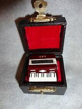ACCORDIAN INSTRUMENT TIE TACK LAPEL PIN