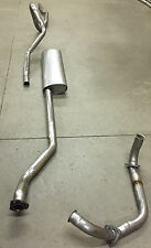 1954-1955 OLDSMOBILE SINGLE EXHAUST SYSTEM, ALUMINIZED, SUPER 88 & 88
