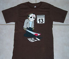 FRIDAY The 13th T Shirt Small (S) Movie Spoof Jason Vorhees halloween horror