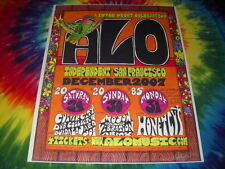 ALO ANIMAL LIBERATION ORCHESTRA+HONEYCUT NEW YEARS EVE'07 SIGNED CONCERT POSTER