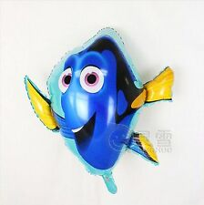 "Large Dory foil balloon  69cm x 78cm  27"" x 31"" Finding Nemo Big Blue Tang fish"