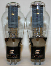 Matched Pairs Svetlana Electron Devices (SED) 300B tubes,NOS from 1998,Brand New