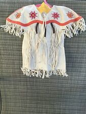 Kaya American Girl Doll Retired Pow-Wow Dress of Today Fringed DRESS ONLY