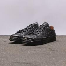 LTD EDITION Converse Chuck Taylor All Star 70' Embossed Floral Black Camel Egret