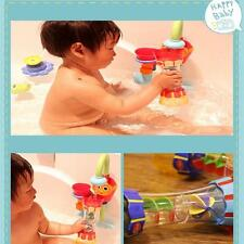 Plastic Toy Colorful DIY Bath Toys Water Whirly Wand Cup For Kids Baby Gift FI