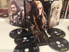Game Of Thrones DVD Box Set (Complete Season 1) 5 DVD's (TV Drama) SERIES 1