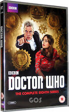 Doctor Who The Complete Eighth Series 8 With Peter Capaldi DVD Boxset New Sealed
