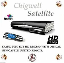 DRX890 500GB SKY+ HD BOX A GRADE WITH OFFICIAL NEWCASTLE UNITED REMOTE CONTROL