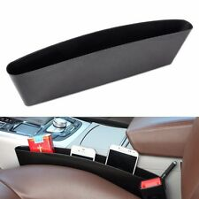 New Universal Black Car Seat Seam Storage Box Slit Pocket Phone Holder Organizer