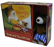 Kiss Good Night : Book and Toy Gift Set by Amy Hest (2004, Board Book, Gift)