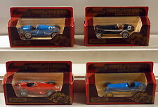 DTE 4 MATCHBOX MODELS OF YESTERYEAR GRAND PRIX RACE CARS Y-10, Y-11 & (2) ERA