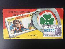 Billet Loterie nationale 1965