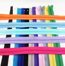 16 Inch DIY lots mix Color 10pcs Nylon Coil Zippers Tailor Sewing best Tools