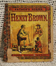 old antique Victorian era Children's book FATHER'S SERIES HENRY BROWN McLoughlin