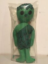 VINTAGE JOLLY GREEN GIANT SPROUT PLUSH STUFFED DOLL 70'S STILL ORIGINALLY SEALED