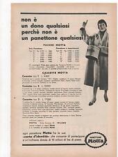 Pubblicità vintage PANETTONE MOTTA MILANO advert werbung reklame publicitè B3