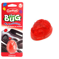 Carplan THE BUG Gel Car Home Air Freshener Freshner Scent Fragrance - CHERRY