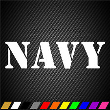 US Navy United States Sticker Decal Officer Veteran Retired Military Car Window