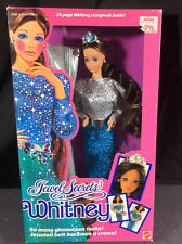 NIB BARBIE DOLL 1986 JEWELS SECRETS WHITNEY