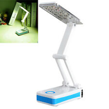 18 LEDs Folding Rechargable Reading Desk Table Bedside Portable Lamp Light New