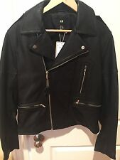 BN H&M Premium Men's Leather Jacket. 40R