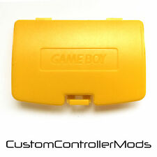 Nintendo Gameboy Color GBC Game Boy Colour Replacement Battery Cover - Yellow