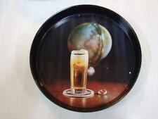 Vintage CARLSBERG BEER Tin Tray Made in Great Britain 70.s