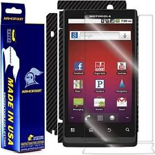 ArmorSuit MilitaryShield Motorola Triumph Screen Protector + Black Carbon Fiber