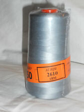 Aurifil Cotton Mako 50wt Quilting Thread-2610 Gray 6452 Yard Cone