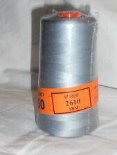 Aurifil Cotton Mako 50wt Quilting Thread-2610 Gray 6452 Yard Cone