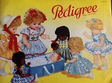 Vintage 1958 Triang Pedigree dolls catalogue