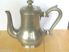 ANTIQUE RESTAURANT SMALL COFFEE PITCHER - FRANCELET FRERES GENEVE SWISS 28/1