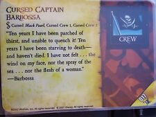 Wizkids Pirates of the Caribbean #017 Cursed Captain Barbossa Pocketmodel CSG