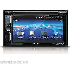 "Sony XAV-602BT 6.1"" LCD DVD Receiver MirrorLink Built-in Bluetooth USB - REFURB"