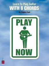 Learn to Play Guitar with 8 Chords-ExLibrary