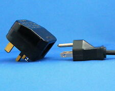 CONVERTER / ADAPTER Plug - US / USA Three (3) Pin to UK 3 pin Plug - 04-4434