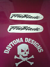 FIREBLADE SEAT NOSE TOP FAIRING CUSTOM PAIR DECALS STICKERS ASSORTED COLOURS