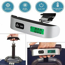 50kg/10g Portable Travel LCD Digital Hanging Luggage Scale Electronic Weight