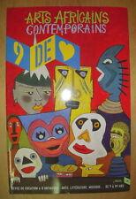 REVUE 9 DE CŒUR N°4 ARTS AFRICAINS CONTEMPORAINS EDITIONS DU SEUIL JUIN 2005