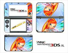 SKIN STICKER AUTOCOLLANT - NINTENDO NEW 3DS XL -  REF 133 WINX