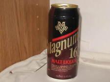 Magnum Malt Liquor Miller Brewing Co Milwaukee 1995 16 oz alum beer can btm oned