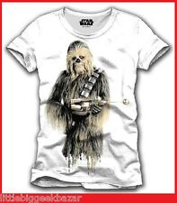 "STAR WARS T-shirt CHEWBACCA chewie tshirt Panini collector # NEUF # Taille "" M """