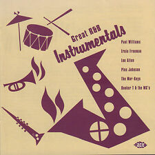 VARIOUS - GREAT R & B INSTRUMENTALS (2001 UK COMPILATION CD)
