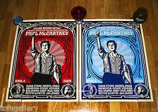 *Last Set* 2009 SHEPARD FAIREY Obey PAUL McCARTNEY S/N Print + COA / BEATLES