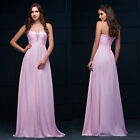 Women Strapless Long Prom Dress Formal Ball Gown Party Evening Bridesmaid Dress