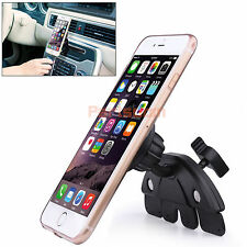 Universal Car CD Slot Magnetic Phone Car Mount Holder Cradle For Samsung iPhone