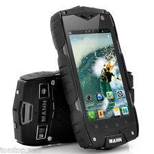 MANN ZUG3 A18 IP68 Waterproof Dust/Shock Proof Qualcomm Rugged Smartphone 5MP GY