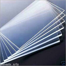 ACRYLIC PLASTIC SHEET Transparent 3mm 1 piece 12 inch X 12 inch