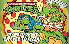 Teenage Mutant Ninja Turtles No to Drugs New York City sensei ninjutsu New!