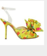 Brand new 39 Auth Jeremy Scott shoes Moschino Bear  jelly heels